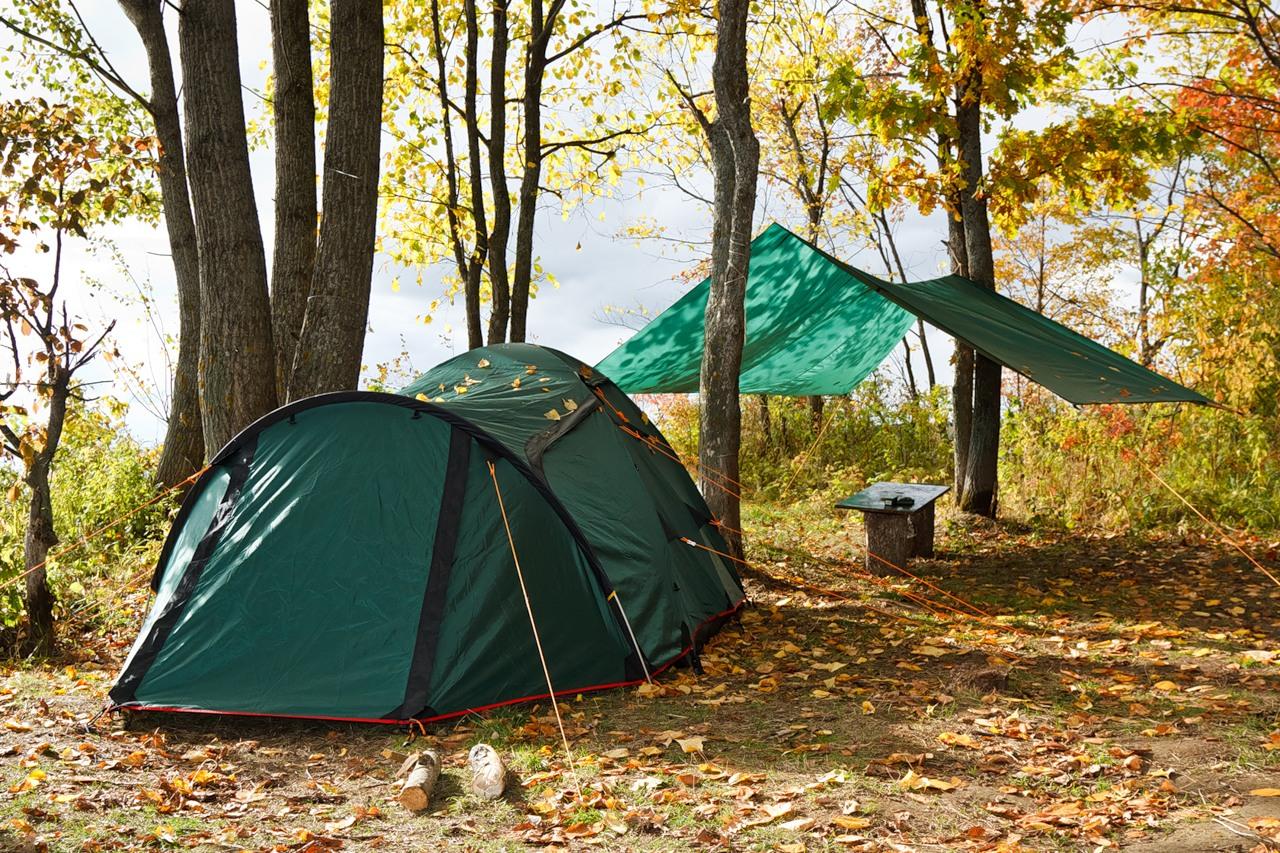 выбор палатки на рыбалку