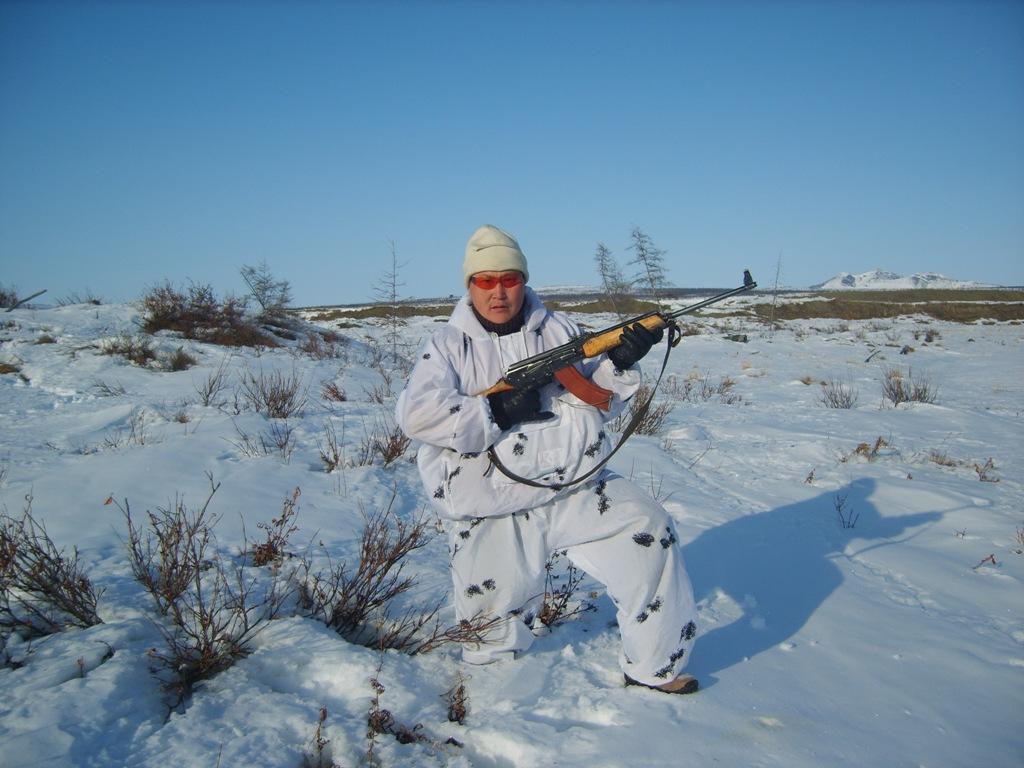 охота зимой