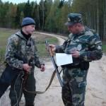 Проверка документов и оружия