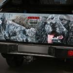 Автомобиль любителя русских спаниелей