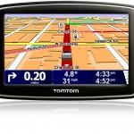 Карта на мобильном навигаторе