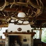 Терраса охотничьего домика