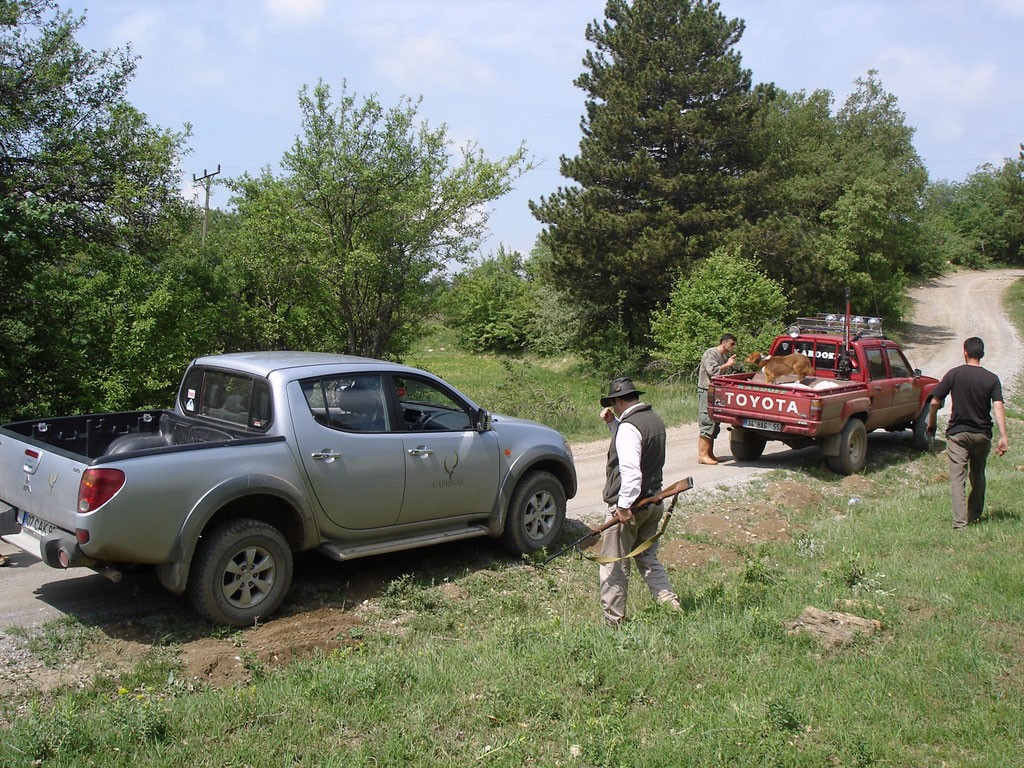 Транспортировка на охоту