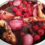 Соус из вина и вишни