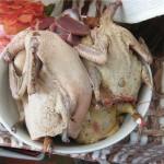 Очищенные тушки утки