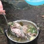 Походный суп из лысухи