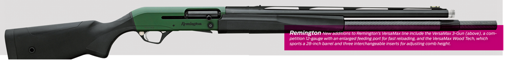 Remington VersaMax Tactical 3 Gun