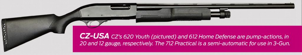 Ружья CZ 620 Youth