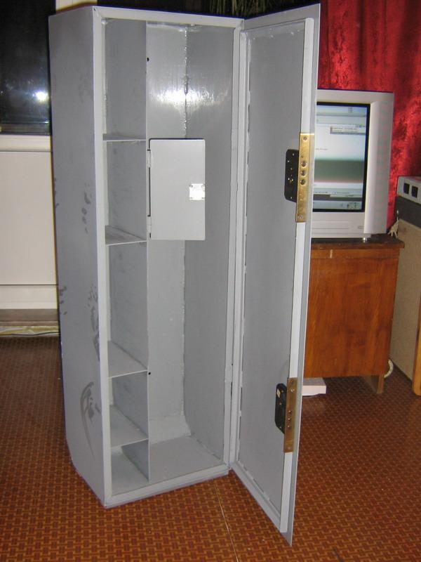 Как сделать металлический шкаф своими руками 58