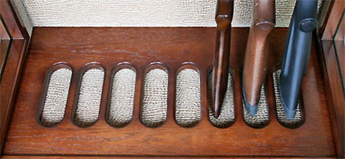 Внутренняя отделка сейфа для ружья своими руками