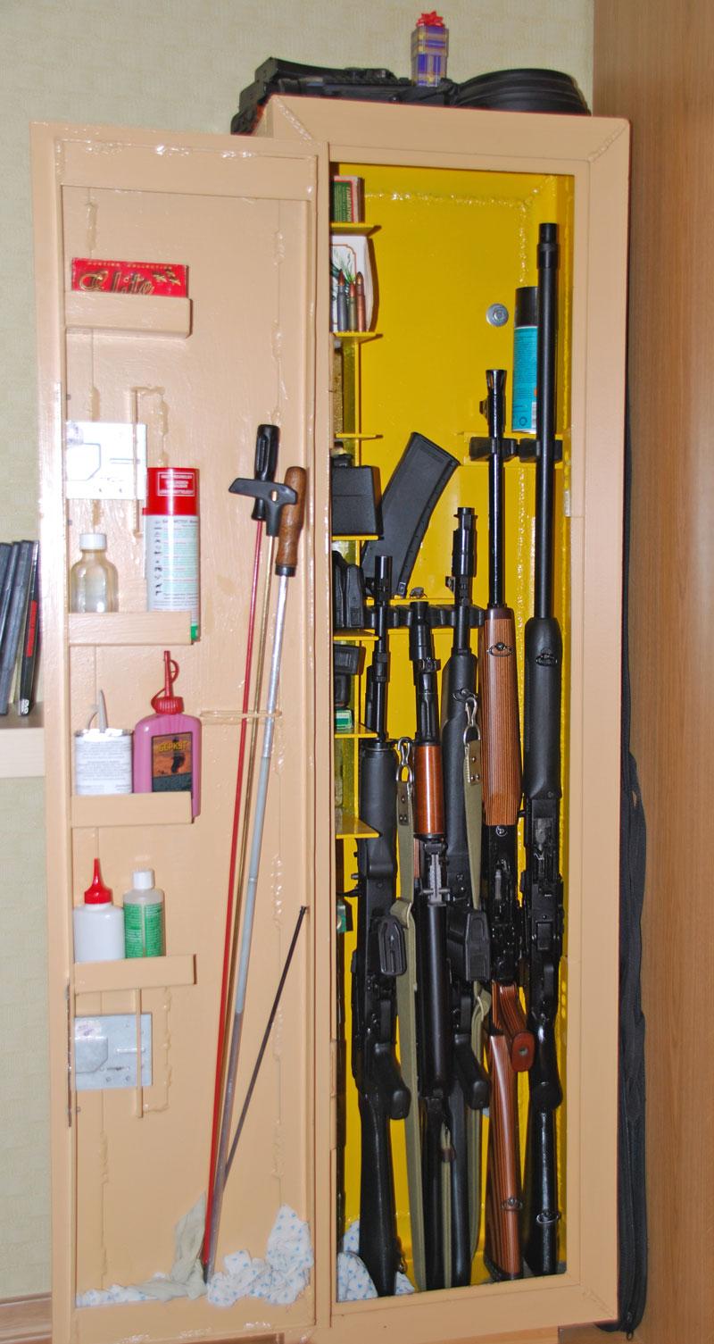 Как сделать оружейный сейф