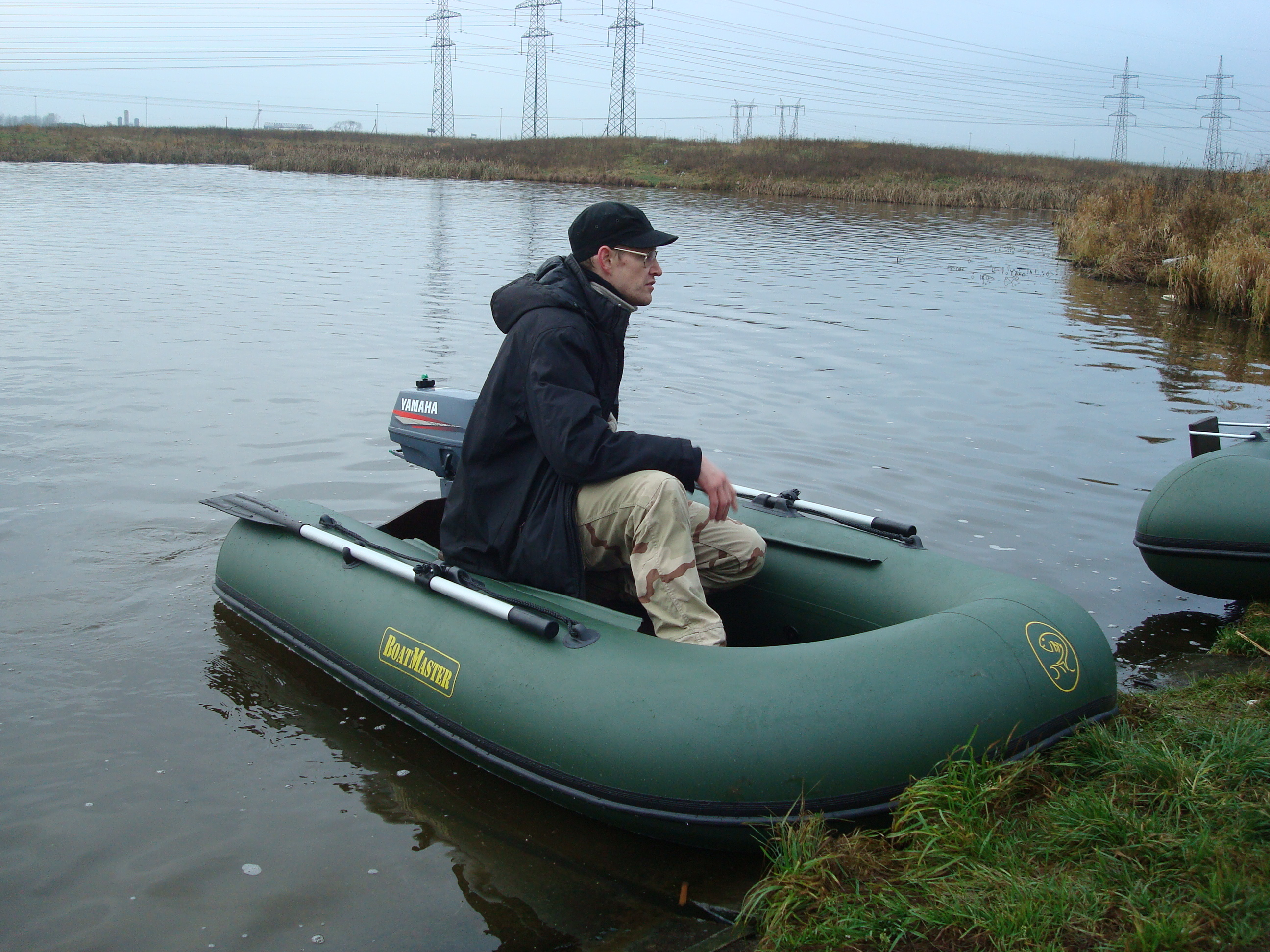 можно уже ловить с лодки или нет в украине