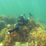 Охотник с подводным ружьем