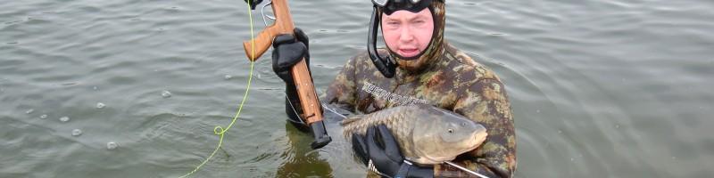 Подводная охота гарпун