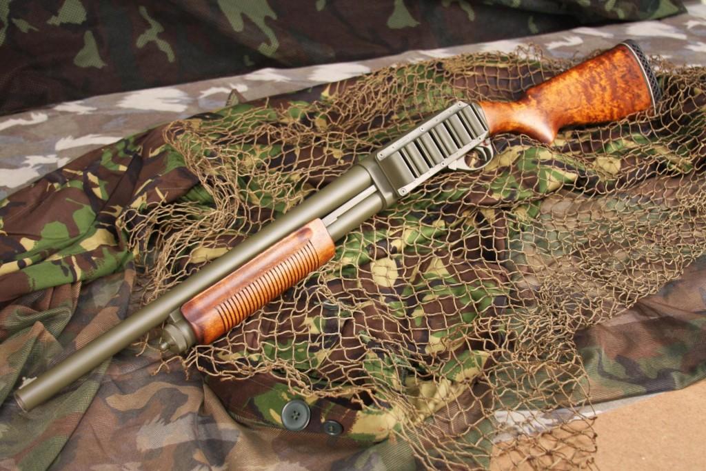 Remington 870 - самодельный тюнинг