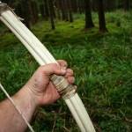 Самодельный лук из веток