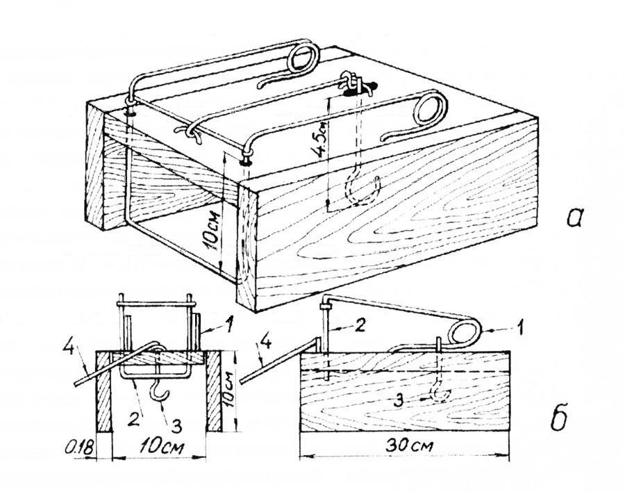 Схема изготовления кулёмки