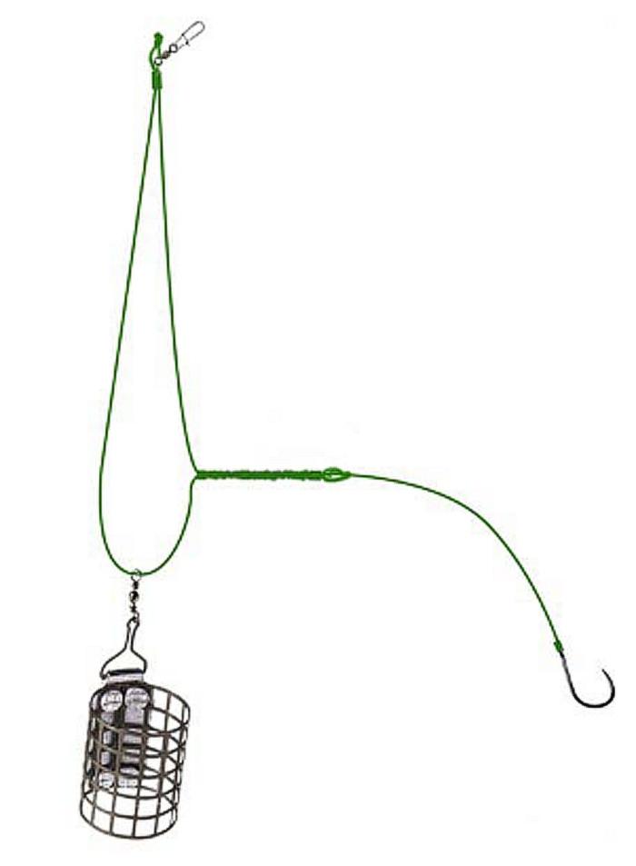 ассиметричный узел при фидерной ловле