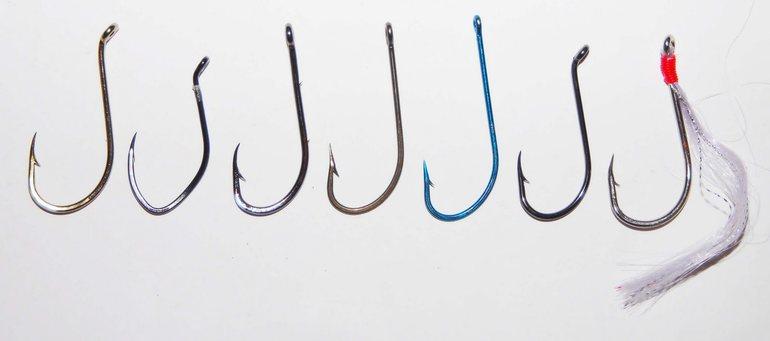Характеристика рыболовных крючков