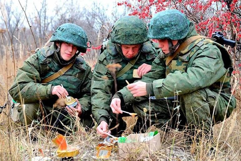 Чем питаются солдаты
