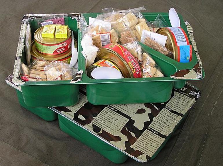 Еда для солдат