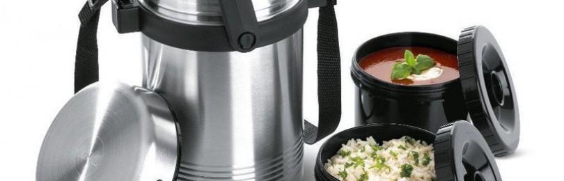 Термосы для еды и контейнеры (термолотки) для обедов