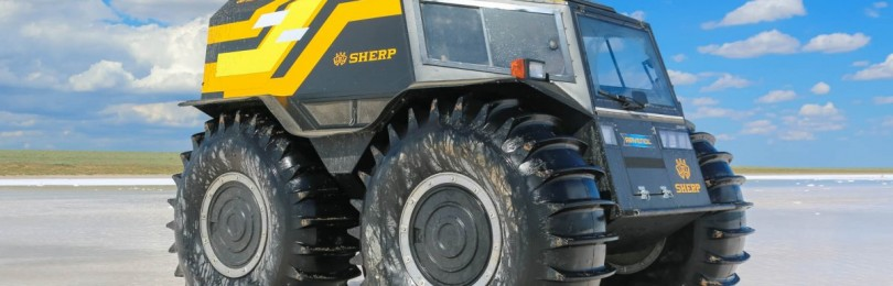 Технические характеристики вездехода Шерп (Sherp)