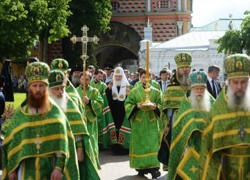 Патриарх Кирилл: «Церковь никогда не ошибается»