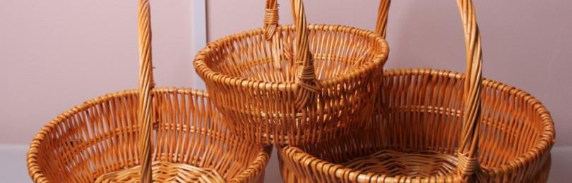 Техника плетения корзины из ивы для начинающих