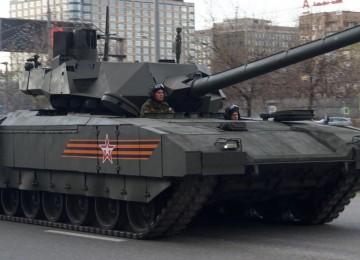 Танкисты США назвали танки Т-14 «Армата» ненадежной техникой