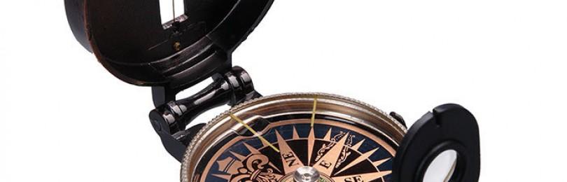 Как правильно пользоваться классическим компасом без карты