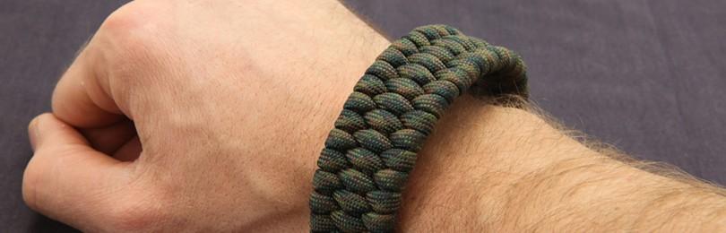 Плетение браслетов из паракорда своими руками