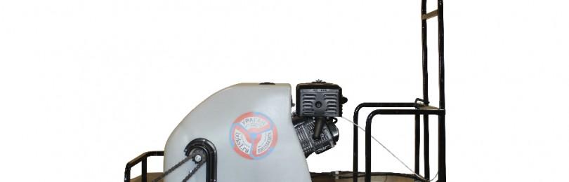 Характеристики мотобуксировщика Ураган и правила его эксплуатации