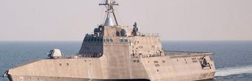 В США завершились испытания тримарана «Цинциннати»