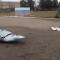 Российский МиГ-29 лишился своих топливных баков над городом
