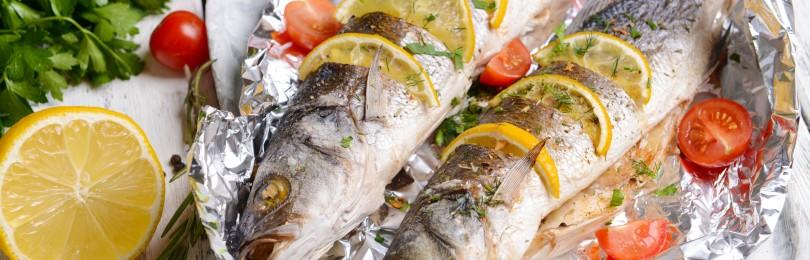 Рыба, запеченная в фольге в духовке: наиболее популярные рецепты