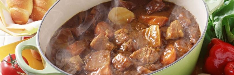 Суп «ленивый» из мяса кабана/лося
