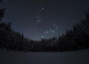 Как самостоятельно найти на звездном небе Полярную звезду