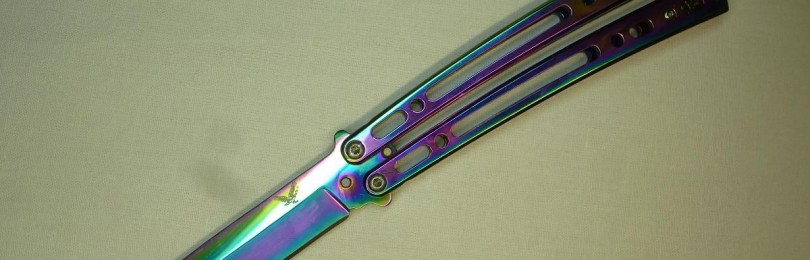 Нож балисонг или как еще его называют бабочка