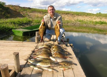 Рыбалка в Белоруссии в сотню раз приятнее