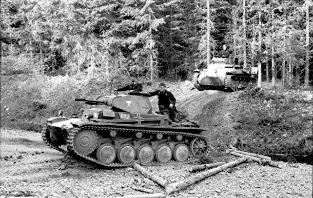 немецкая бронетехника второй мировой войны