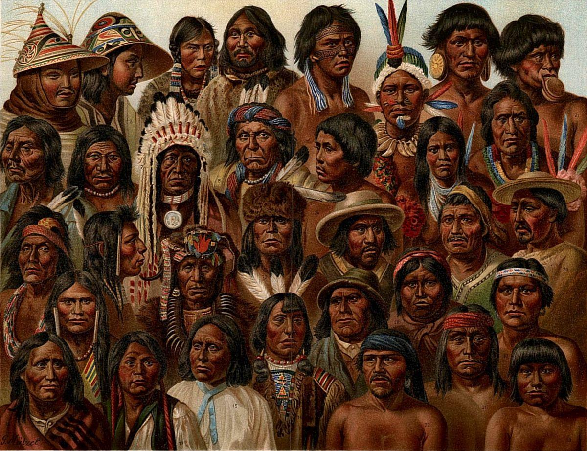 коренные жители америки