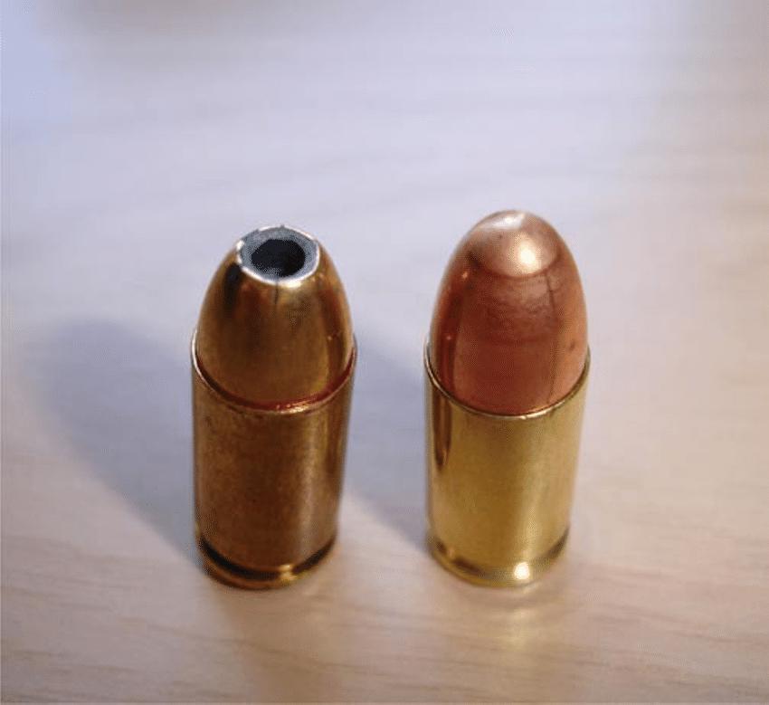 строение пули
