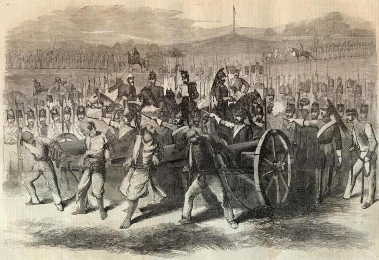 завоевание индии англичанами