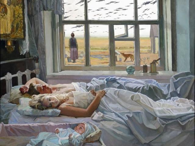 картины о войне 1941 1945 известных художников
