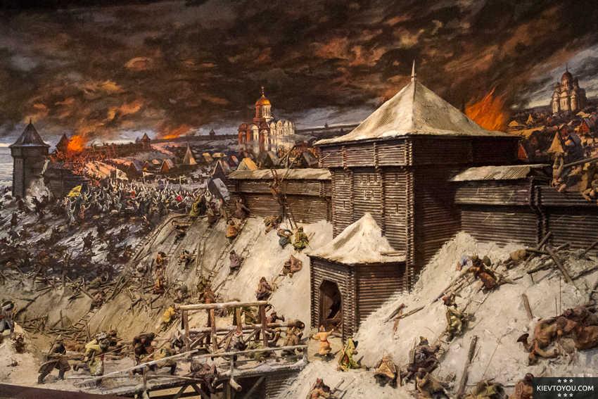 захват монголо татарами киева