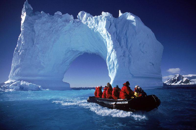 антарктида это север или юг