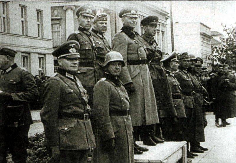 немецкий парад