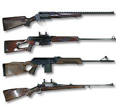 калибры нарезного оружия для охоты таблица