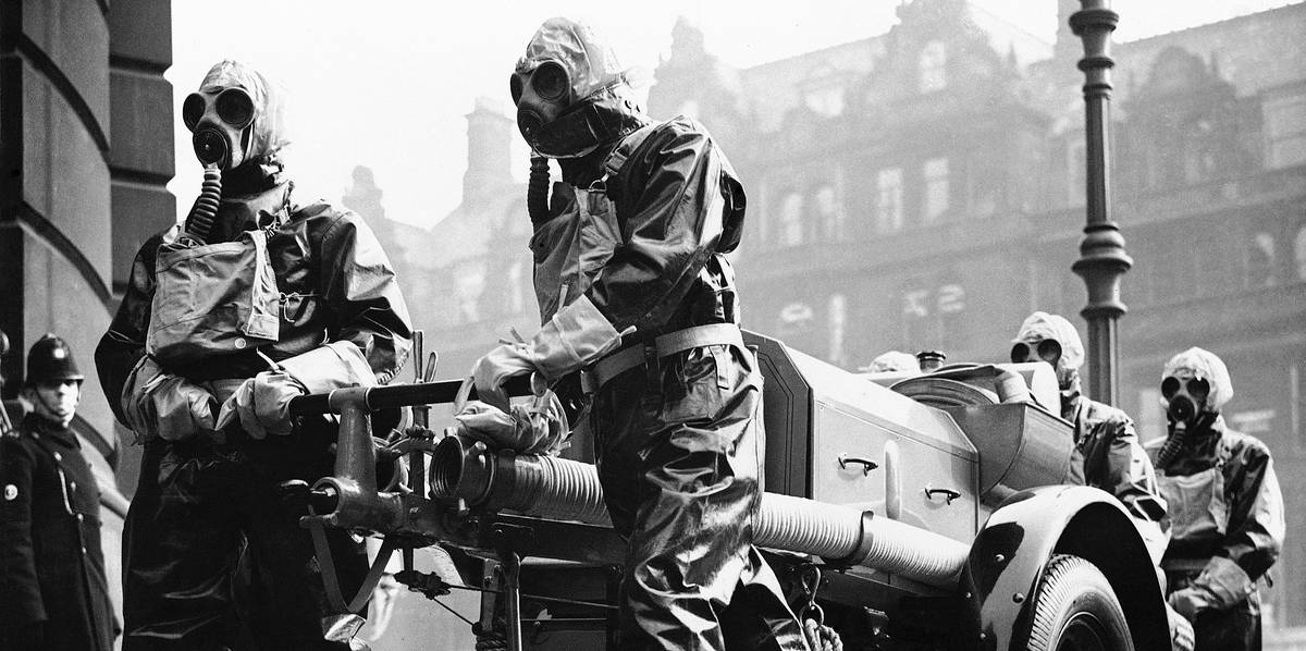 первая газовая атака